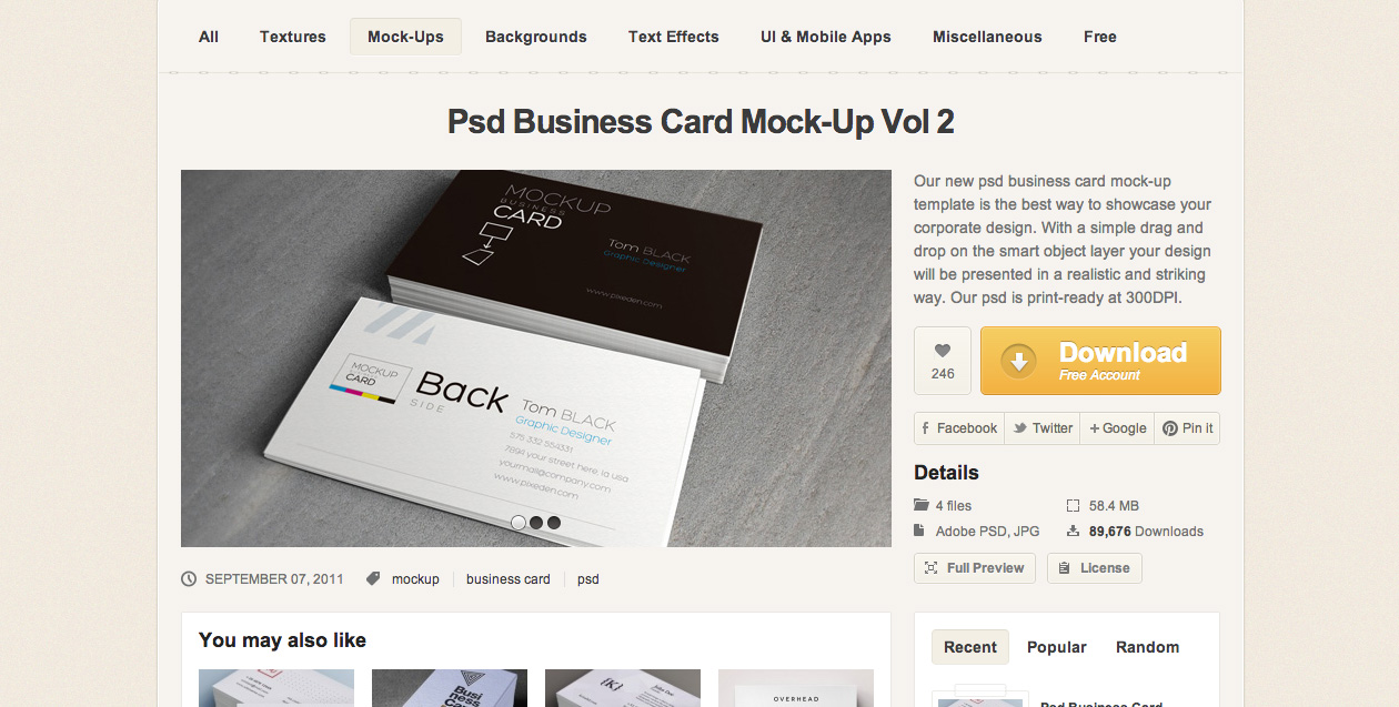 40 free psds and actions for mock ups webdesigner depot mockup 4 panel accordion reheart Images