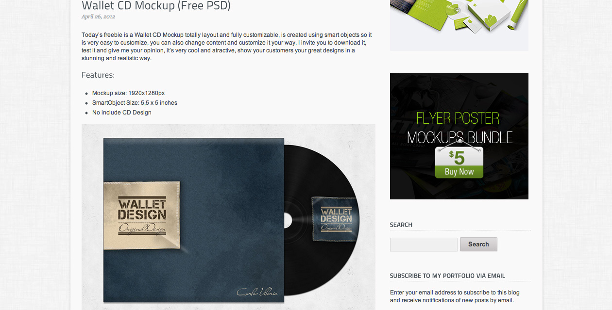 40 free psds and actions for mock ups webdesigner depot wallet cd mockup reheart Image collections