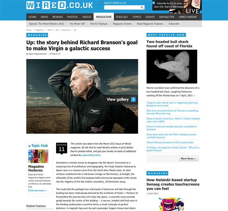 Designing The New Fully Responsive Wired Article Pages