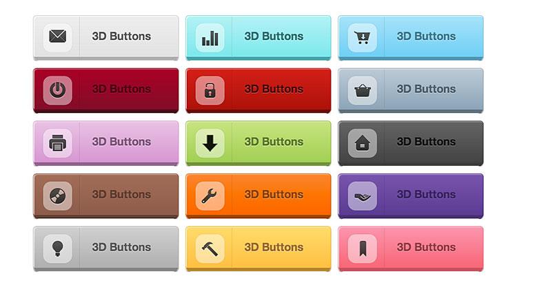 buttons-3d