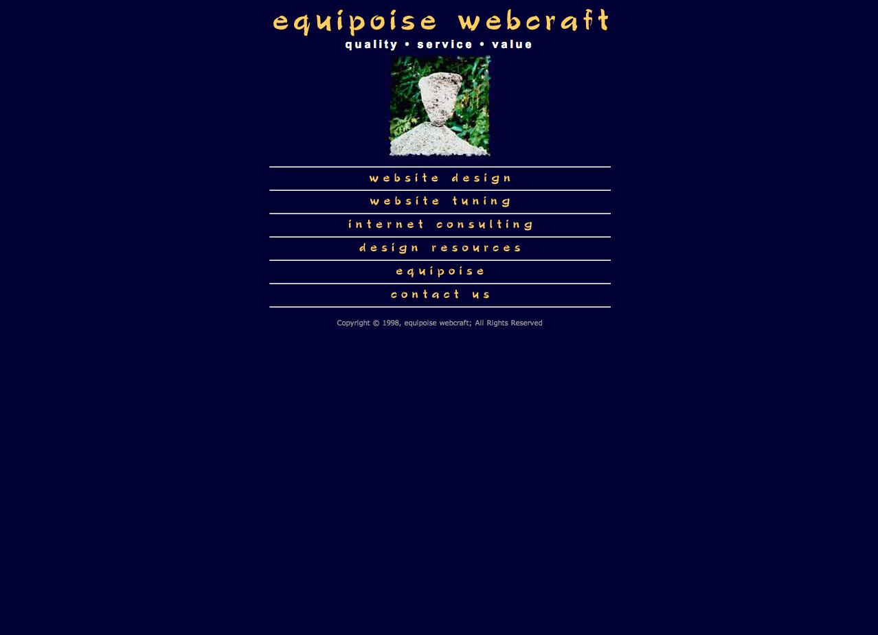 Equipoise Webcraft