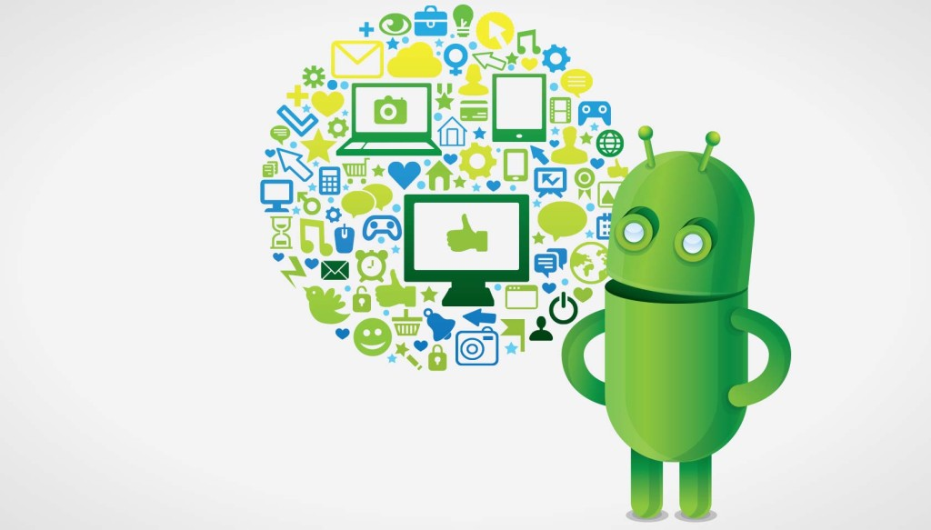 Enchant, simplify and amaze; the Android way