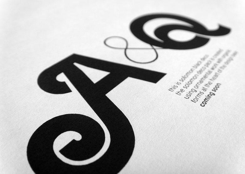 Solomon font