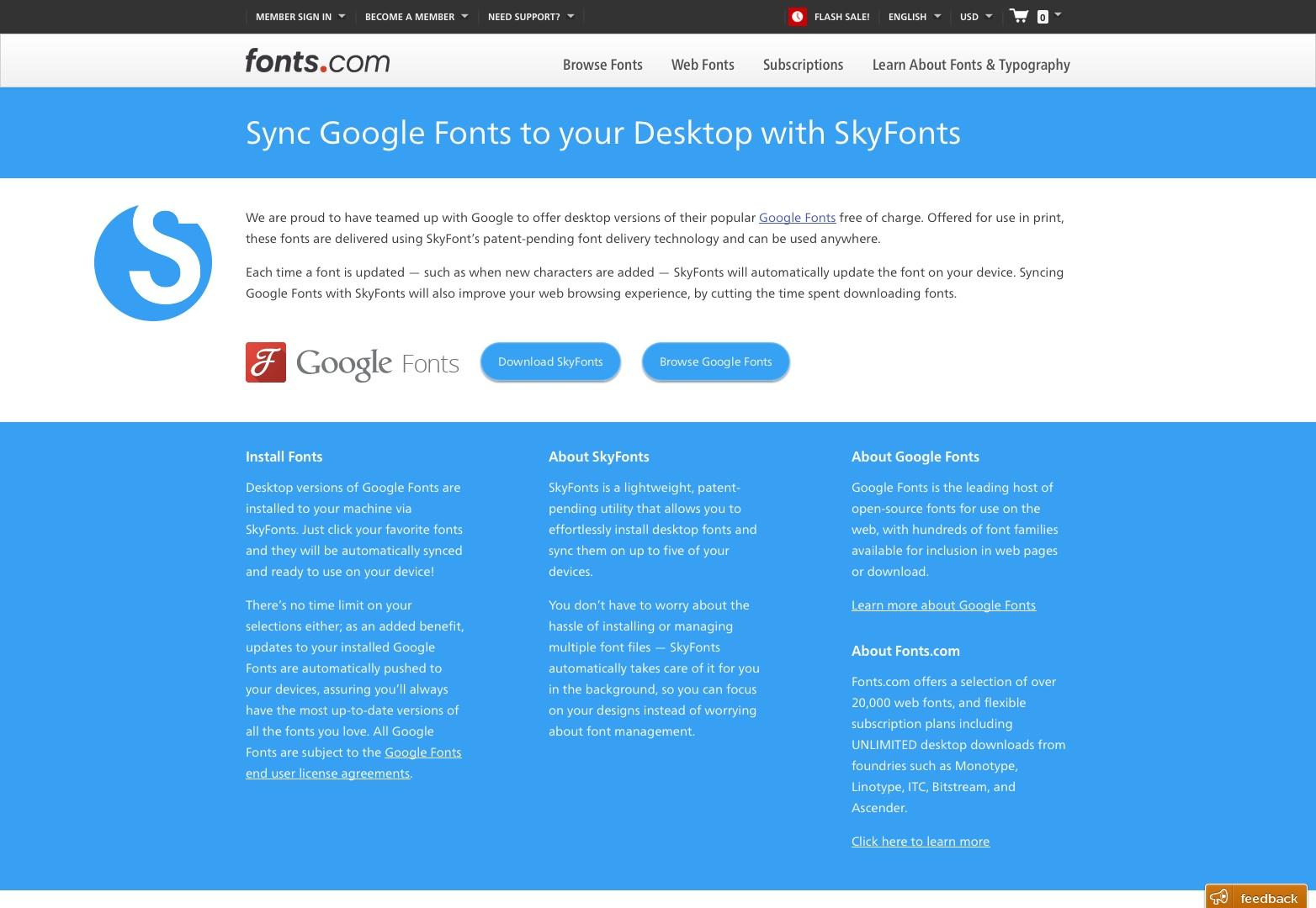 Download Google Fonts - Fonts.com