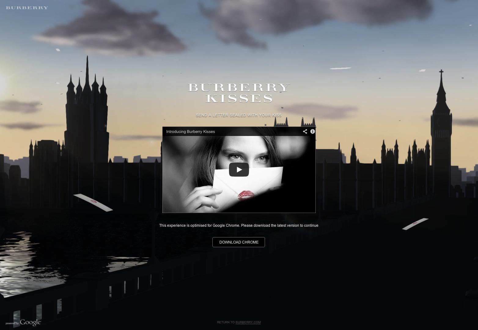 Burberry Kisses | Burberry