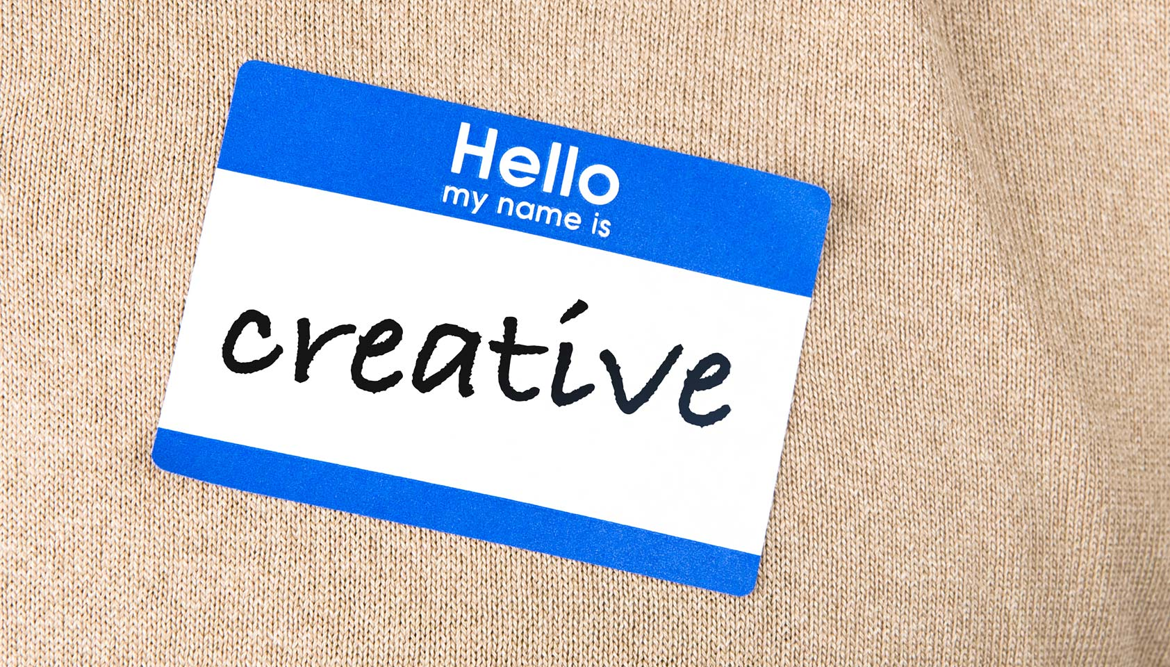 What's wrong with being creative?