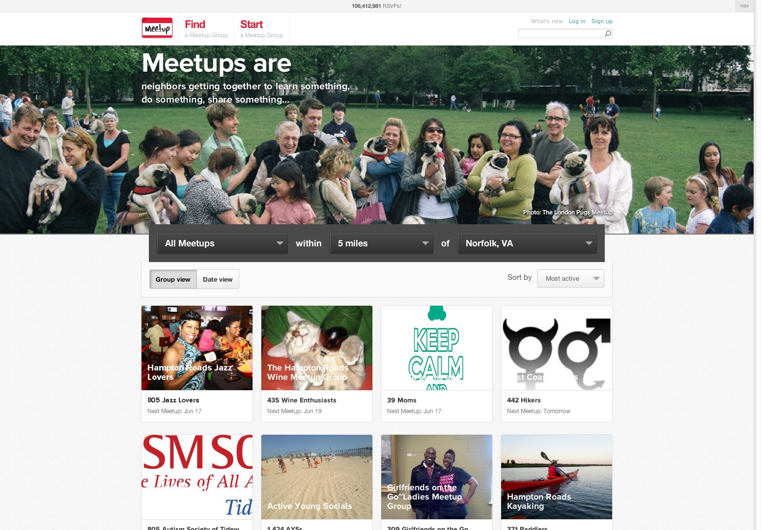 Find Meetup groups near you - Meetup