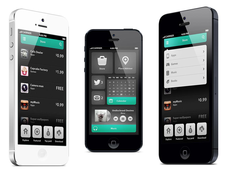 20 beautifully designed smartphone apps | Webdesigner Depot
