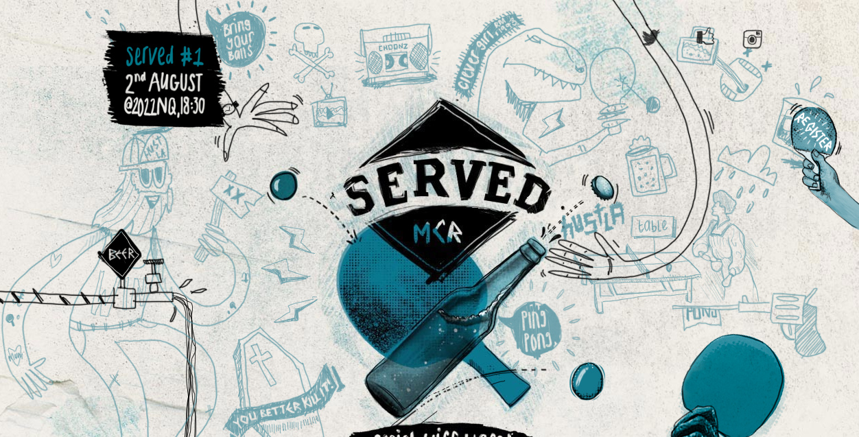 Served MCR - Bring your balls copy