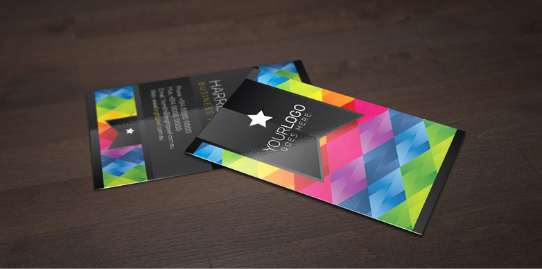 40 really creative business card templates webdesigner depot free card mockups free flashek Gallery
