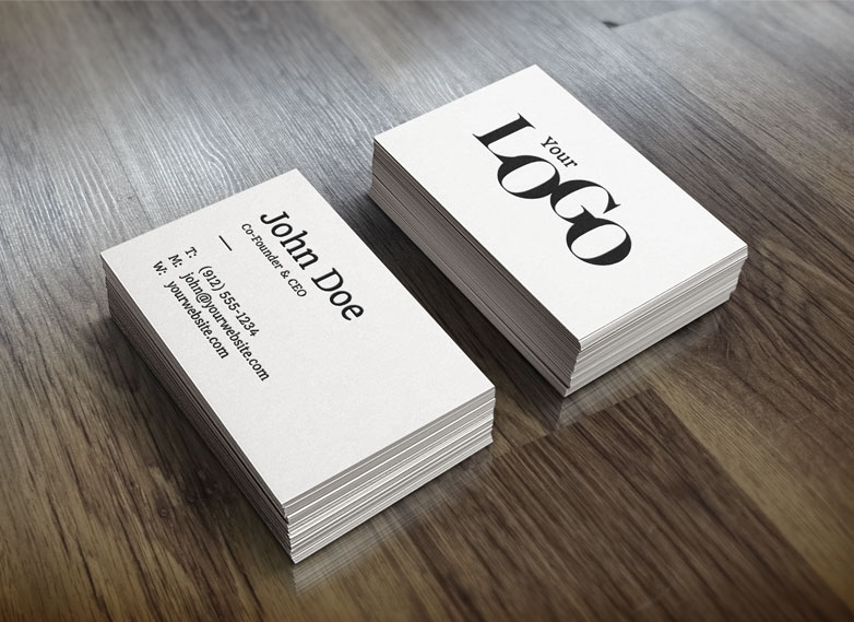 40 really creative business card templates webdesigner depot free business cards mockup free wajeb Image collections