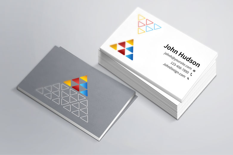 40 really creative business card templates webdesigner depot business card template mockup free flashek Image collections