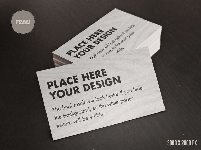 40 really creative business card templates webdesigner depot free card mockups free cardmockup2 cheaphphosting Gallery