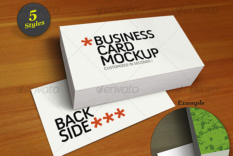 40 really creative business card templates webdesigner depot business card mockup smart template pack 7 cardmockup25 cheaphphosting Gallery