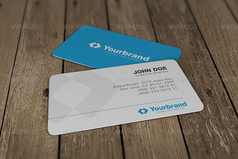 40 really creative business card templates webdesigner depot photorealistic business card mockups 8 cardmockup32 reheart Gallery