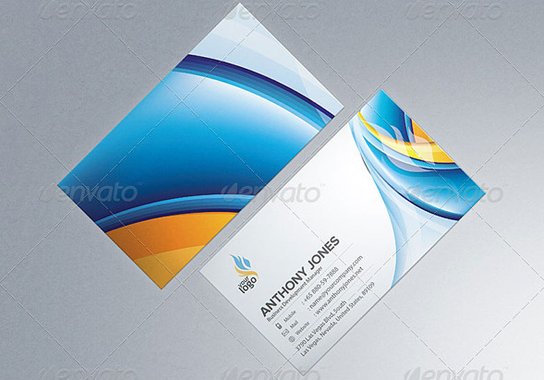 40 really creative business card templates webdesigner depot photorealistic business card mockup template 8 cardmockup37 wajeb Images