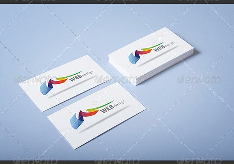 40 really creative business card templates webdesigner depot realistic business card mockup 7 cardmockup39 reheart Images