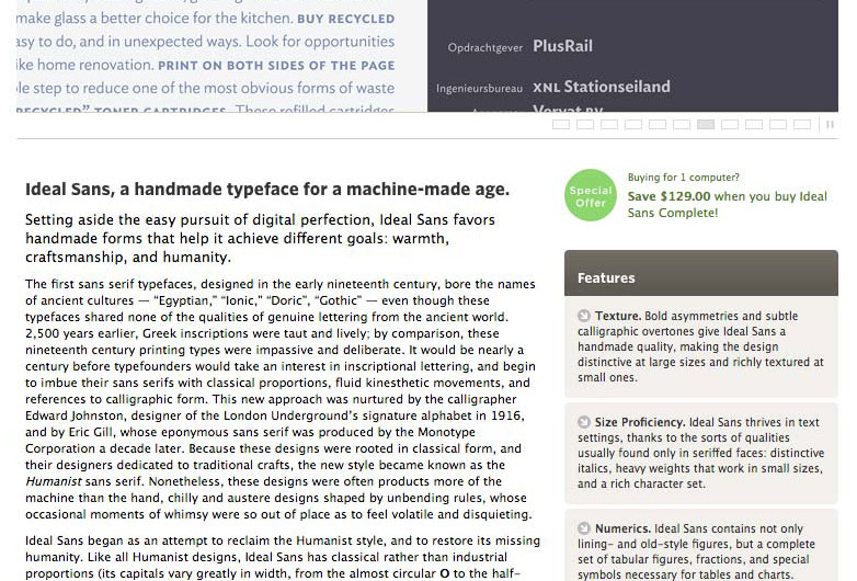 New webfont options from Cloud typography | Webdesigner Depot