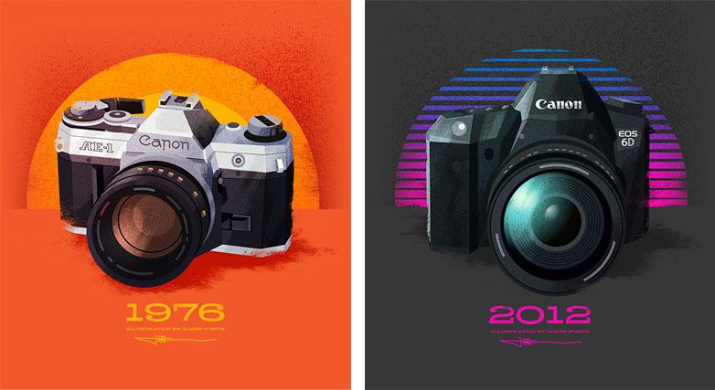 Signalnoise camera illustrations