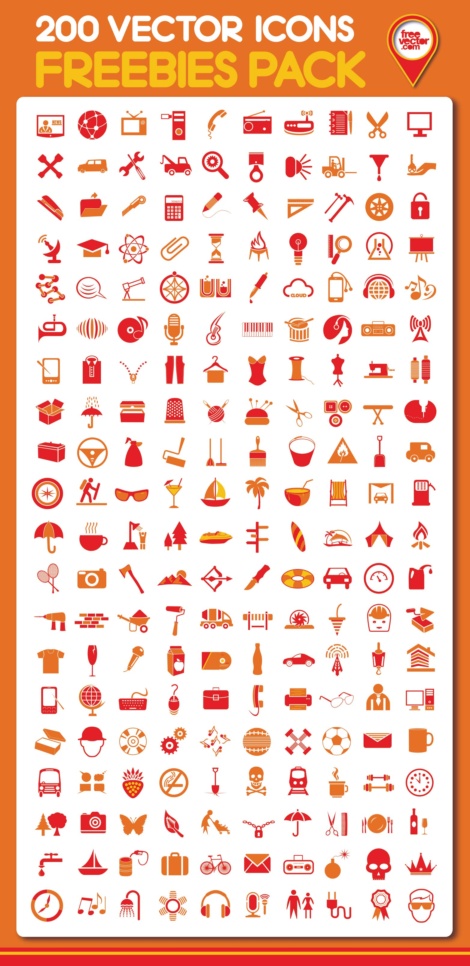 Free download 200 vector icons webdesigner depot vectors reheart Images