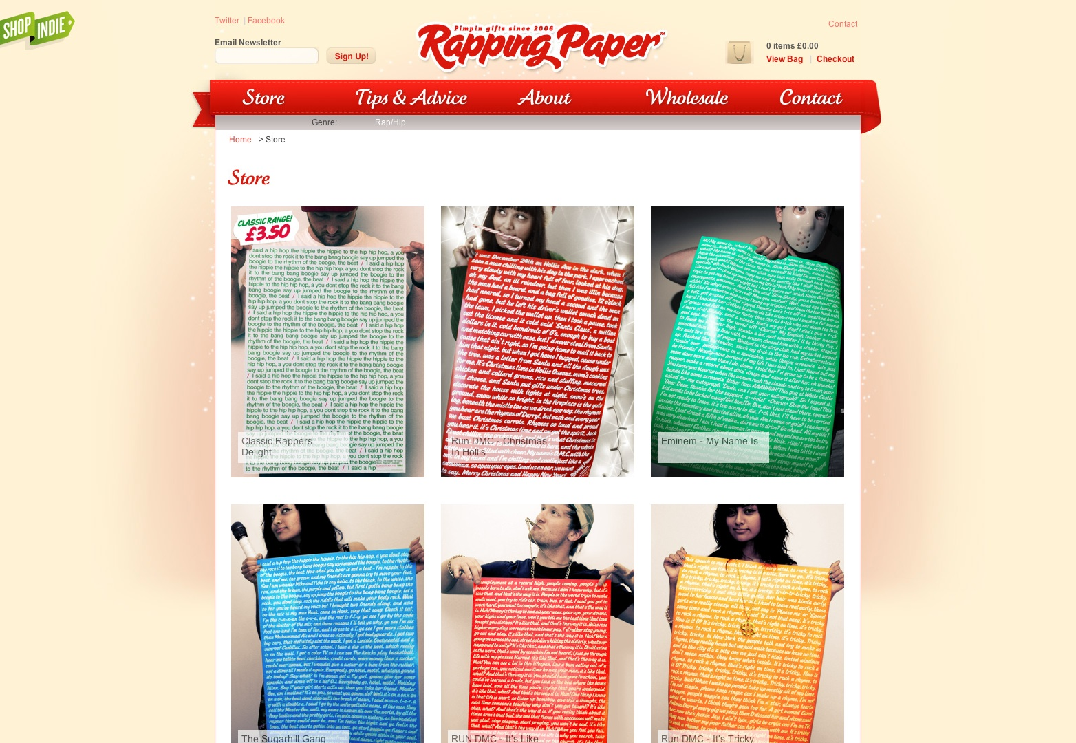 Rapping Paper — Home