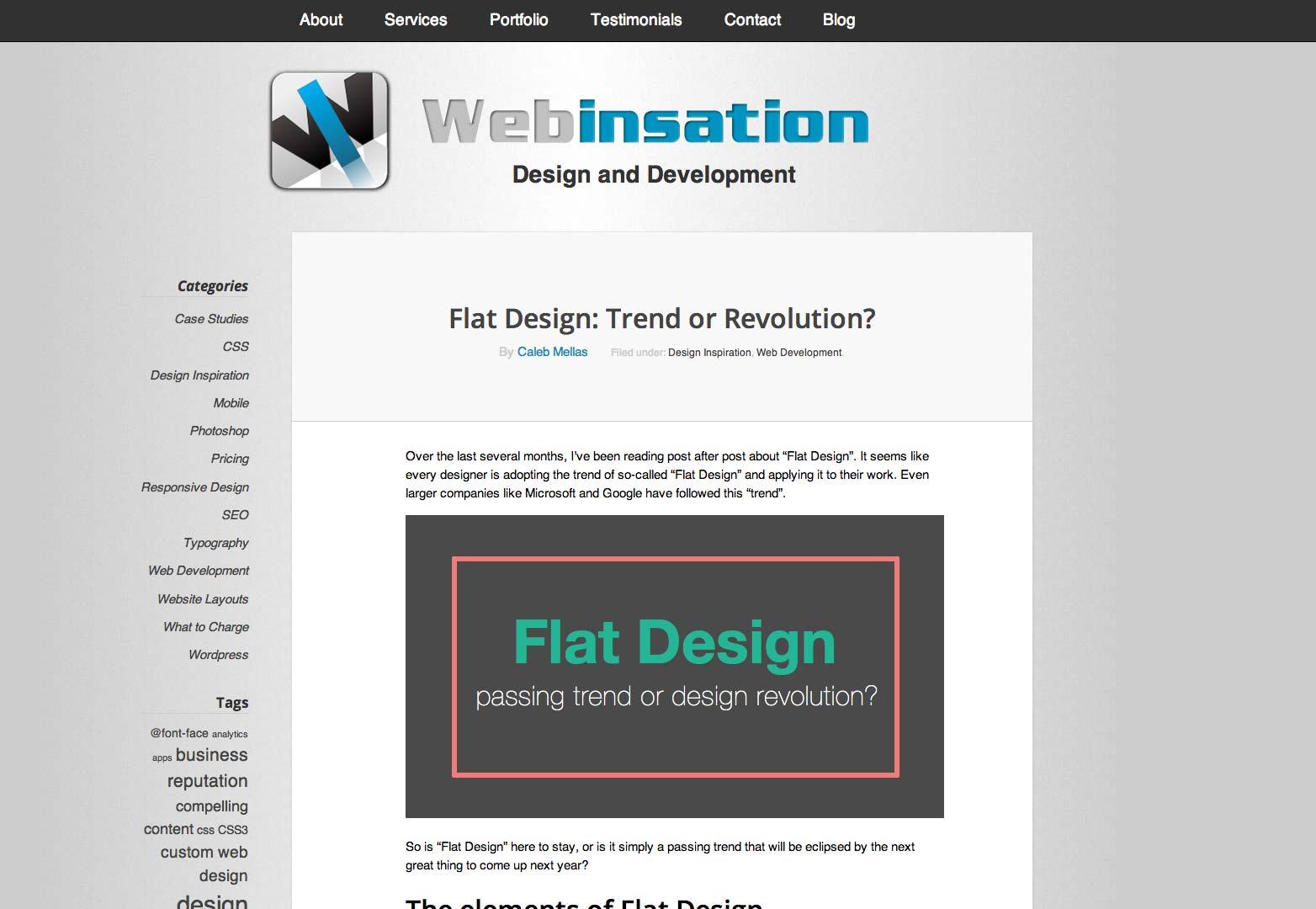 webinsation