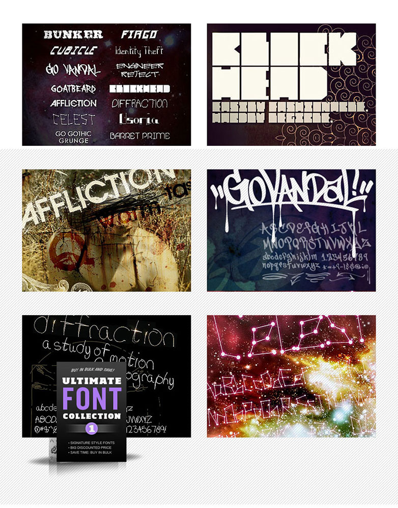 P-GMA-Ultimate-Font-Collection