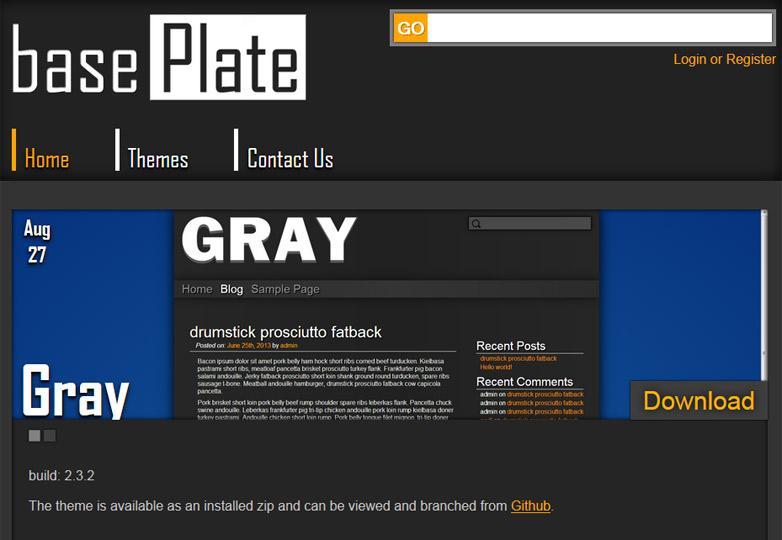 gray-base-plate