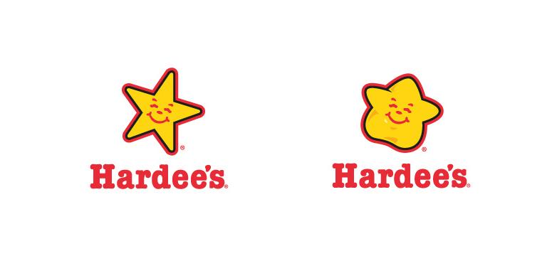 Hardee's Fat Logo