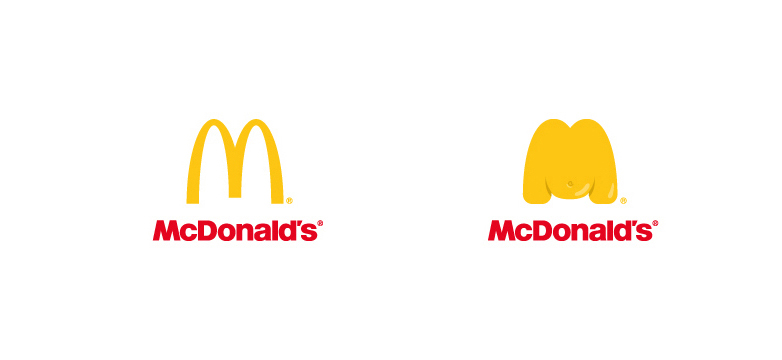 McDonald's Fat Logo