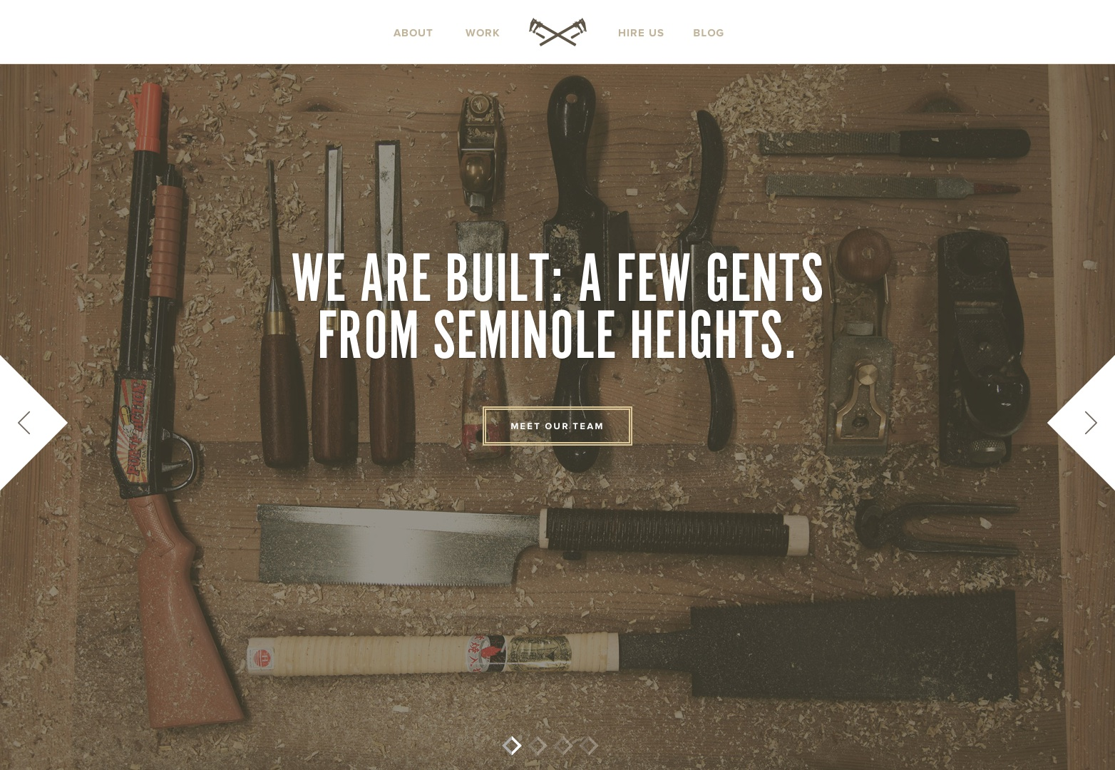 Built | A Furniture & Fixtures Shop In Seminole Heights, FL.