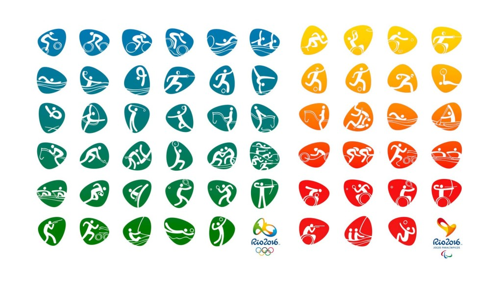 Rio 2016 Olympic and Paralympic pictograms revealed