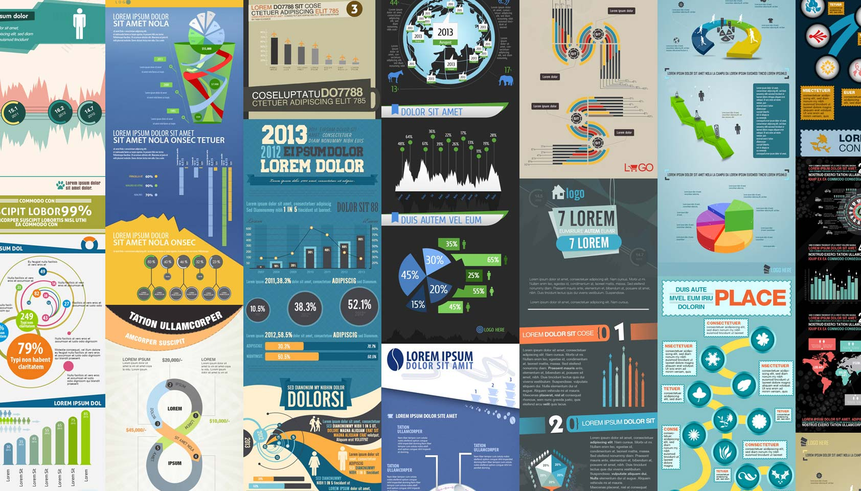 Deal of the week: Massive infographic bundle