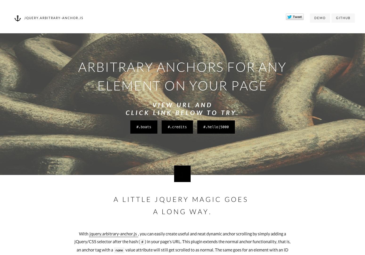 jquery.arbitrary-anchor.js | Brian G.