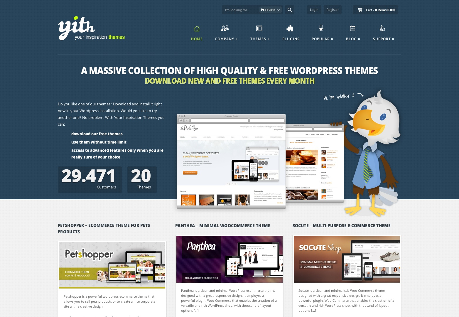 The AZ Of WordPress Theme Websites Webdesigner Depot - Website templates wordpress