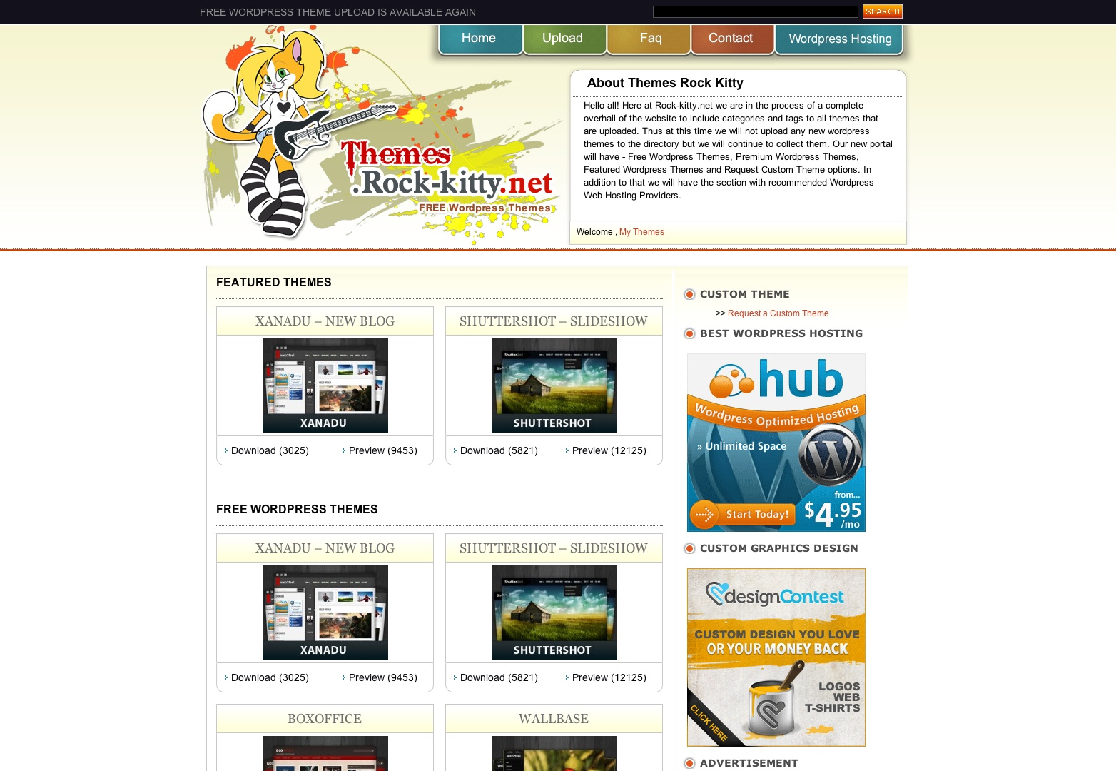 FREE WORDPRESS THEMES - WP THEMES DESIGNS