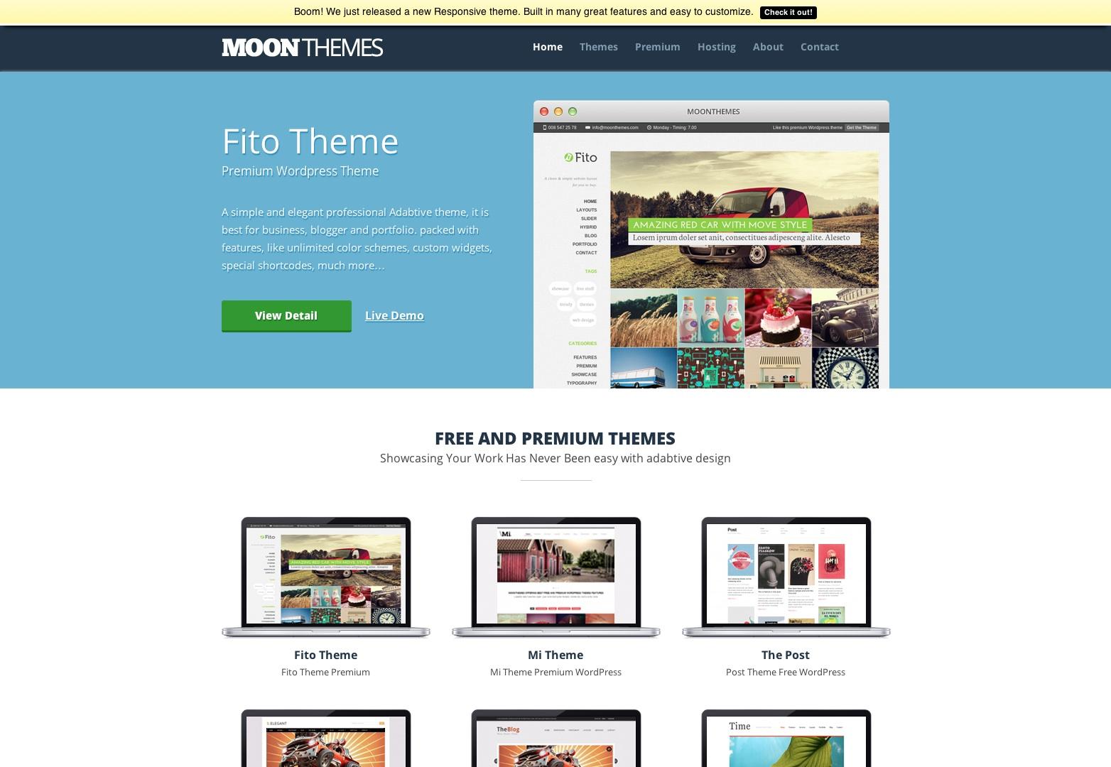 MOONTHEMES - Free Premium High Quality WordPress Themes