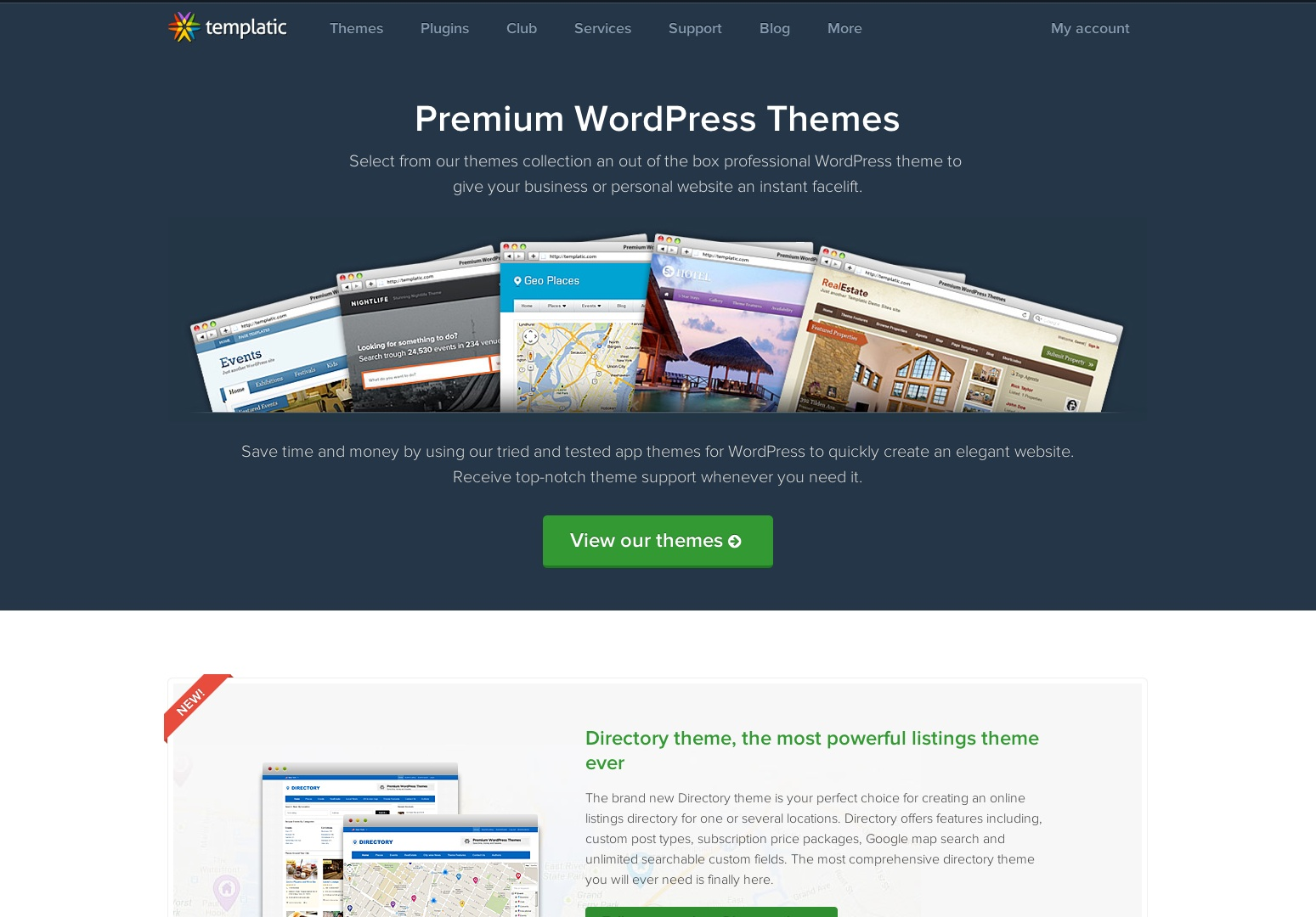 Premium WordPress Themes | Templatic - App Themes | Directory Themes