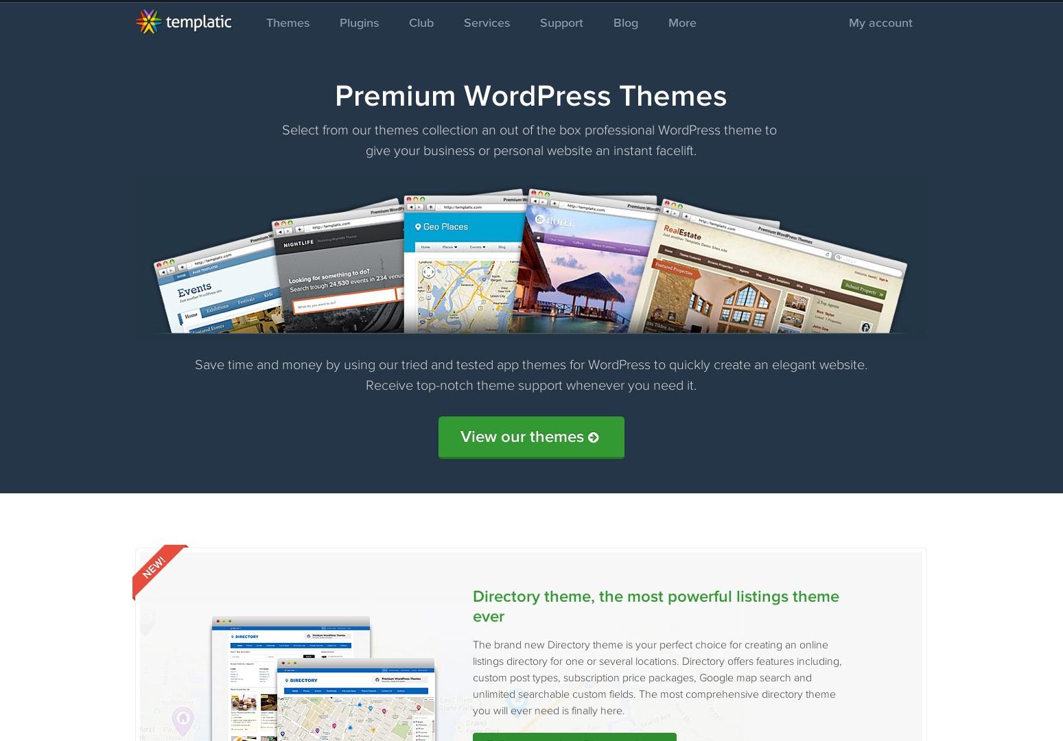 Premium WordPress Themes | Templatic - App Themes | Directory Themes