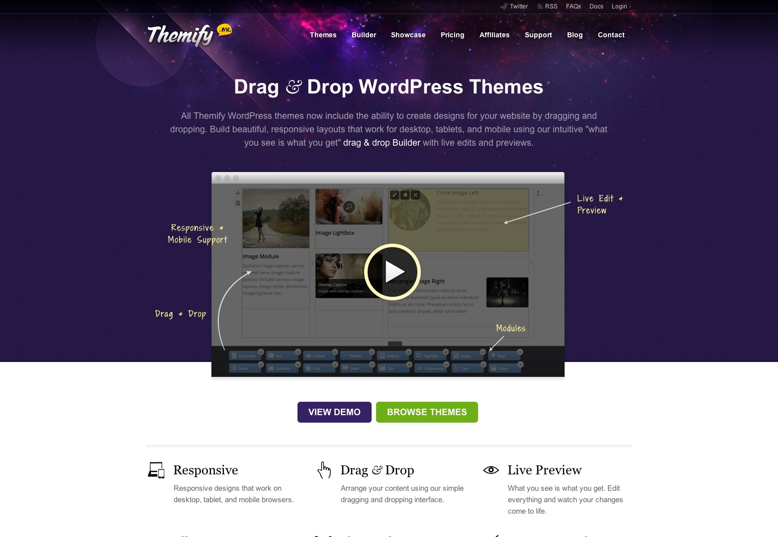 Themify : Drag & Drop WordPress Themes