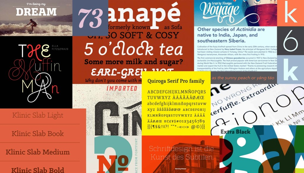The best fonts of 2013