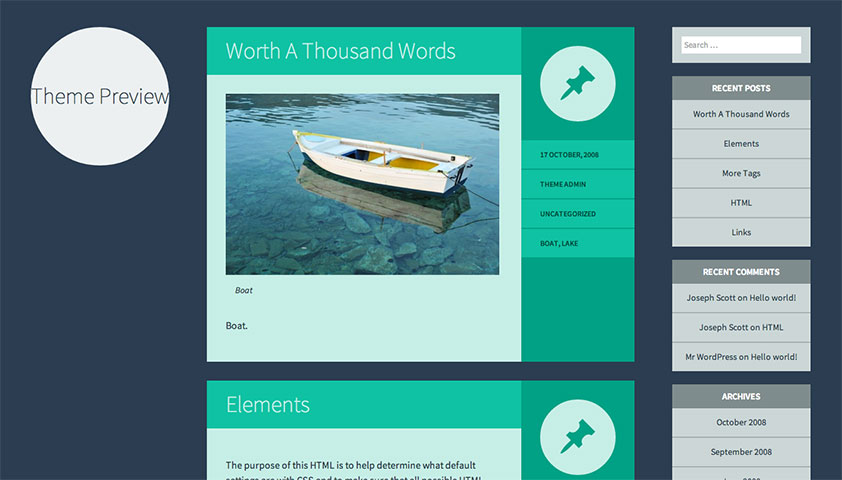 The best free WordPress themes, December 2013