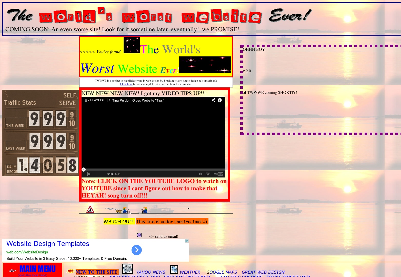 The World's Worst Website Ever!