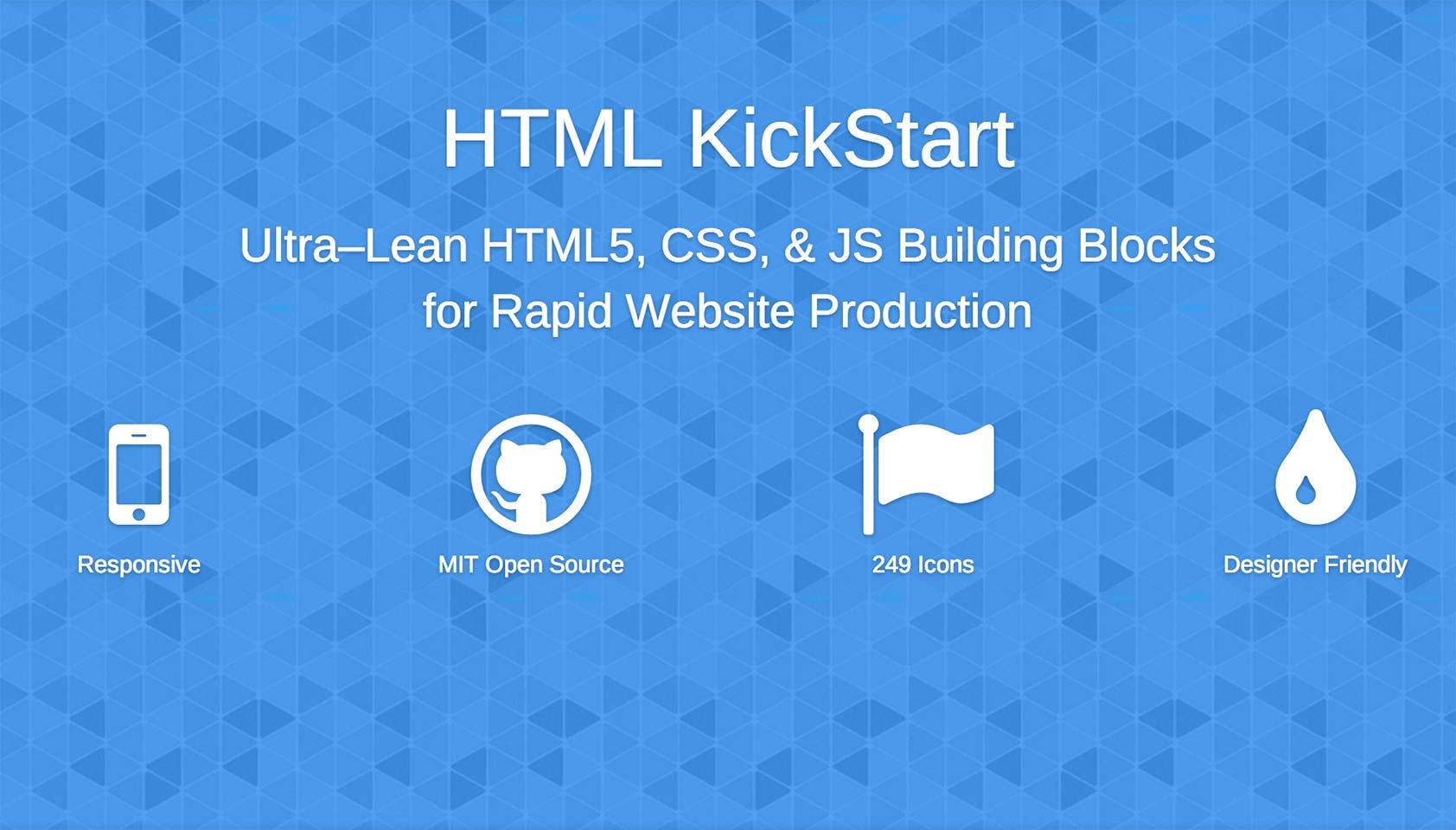 How to Kickstart your HTML
