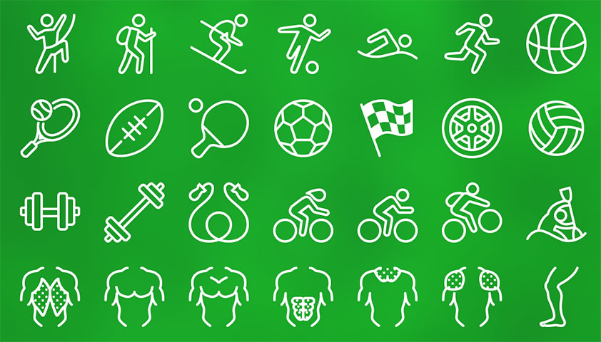 Free download: Icons8 sports icon pack