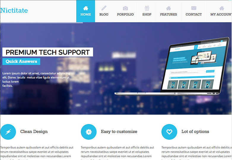 The best free WordPress themes, February 2014 | Webdesigner Depot