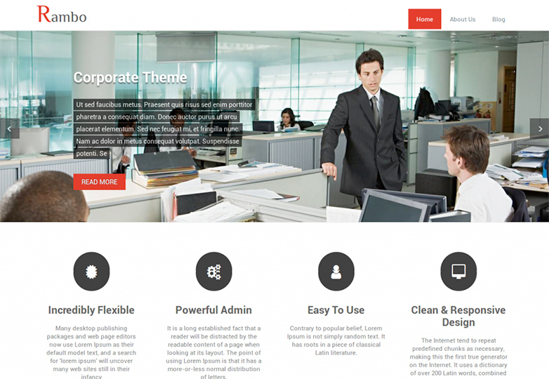 21 free wordpress themes for march 2014 webdesigner depot rambo lite wajeb Image collections
