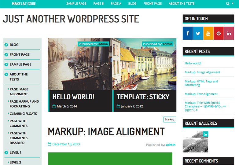 25+ free WordPress themes for April 2014 | Webdesigner Depot