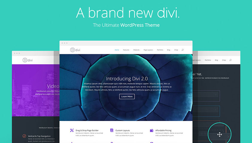 Elegant Themes updates their popular Divi WordPress theme with tons of new options
