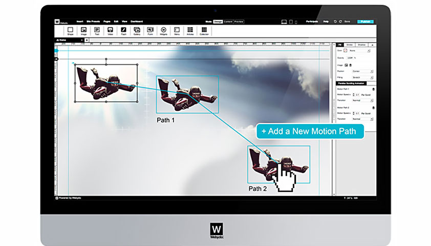 Code-free parallax scrolling animator, closed beta invitation for WDD's readers